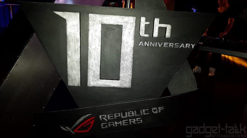 10 ani de la lansarea gamei Asus Republic of Gamers