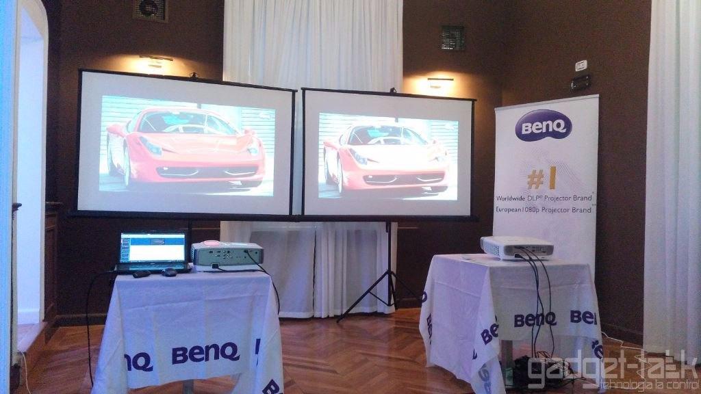 BenQ anunta un nou val de video proiectoare si prima boxa