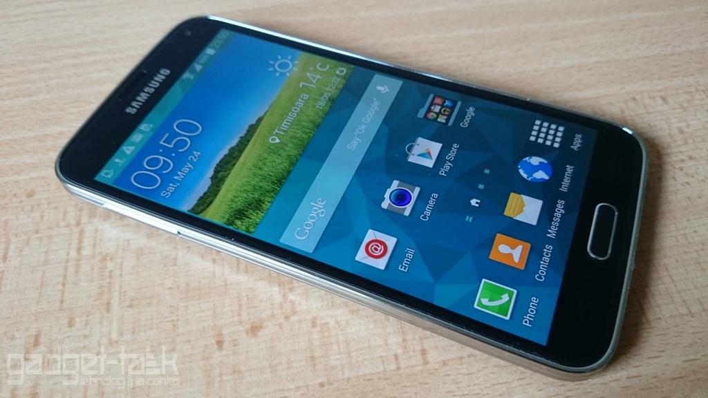 Galaxy S5 SM-G900 primeste actualizare Android 6.0.1 Marshmallow