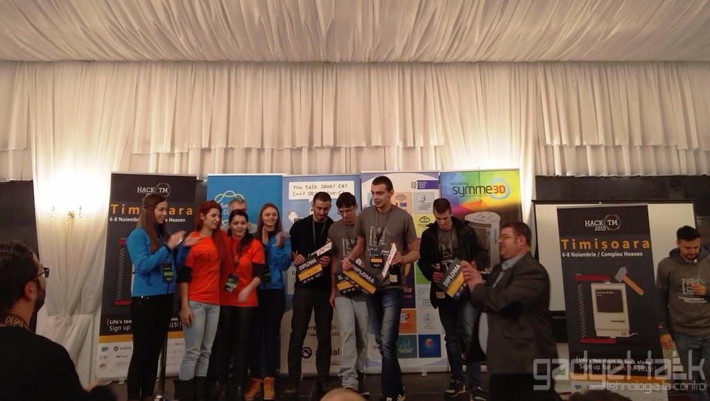 Proiectul Snowboarding, marele castigator al HackTM, editia 2015