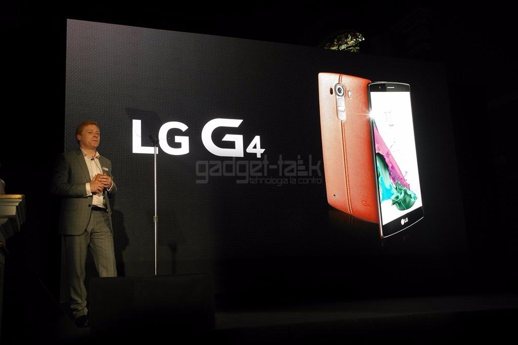 LG G4 listat la precomanda