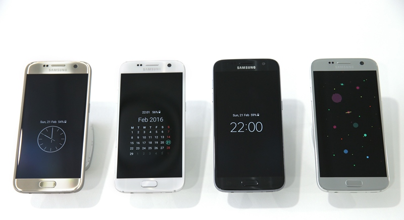 Galaxy S7 si S7 Edge lansate in Barcelona
