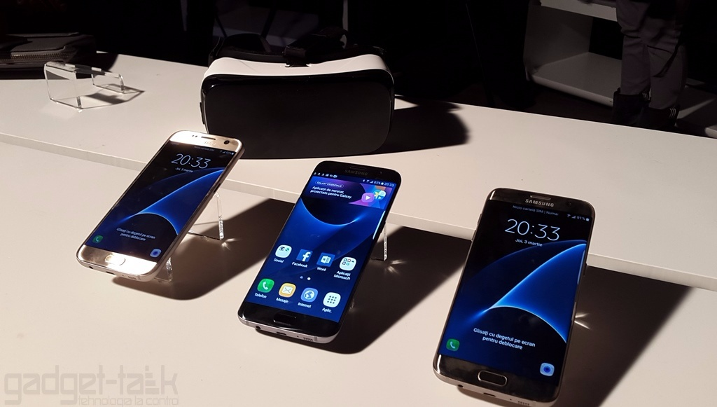 Vanzari record anuntate de Samsung pentru Galaxy S7 si S7 Edge