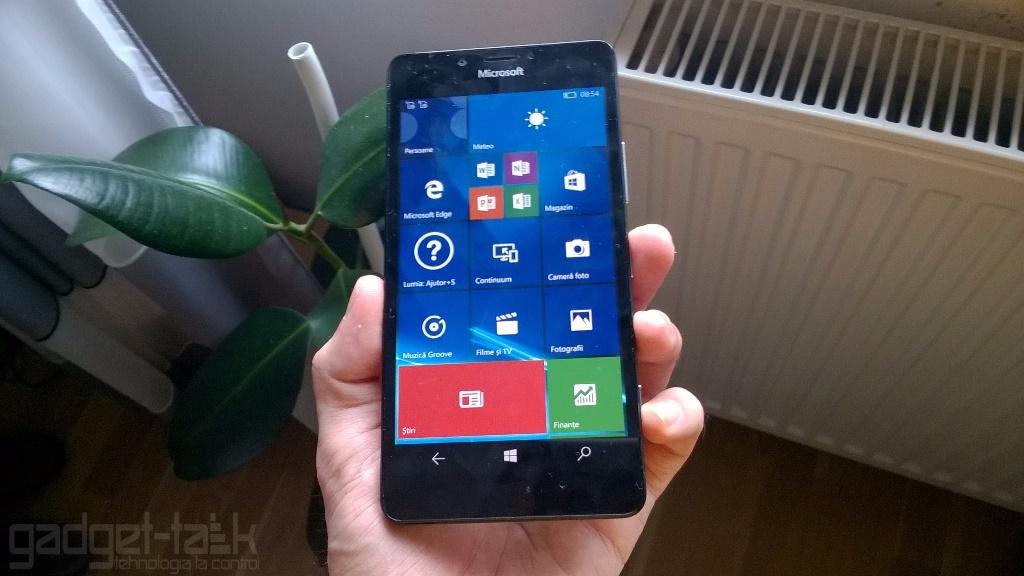 Telefoanele Lumia primesc actualizare Windows 10 Mobile