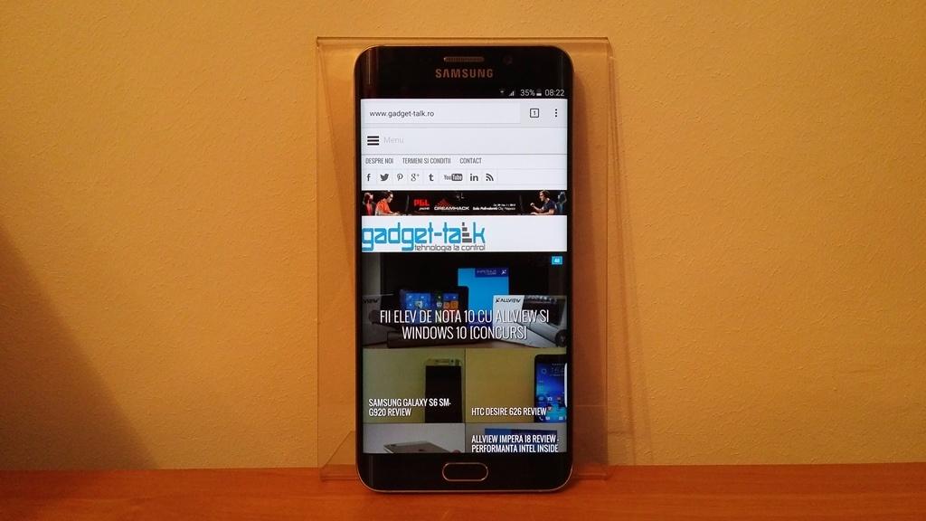 Galaxy S6 Edge+ primeste prima actualizare