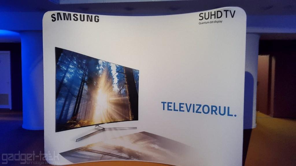 Samsung lanseaza gama de televizoare Quantum Dot SUHD 2016