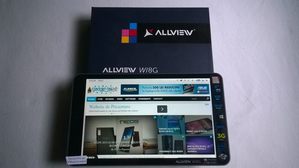 Allview Wi8G Review