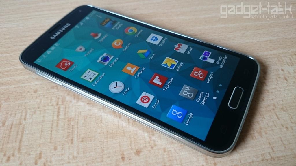Galaxy S5 SM-G900F primeste actualizare Android 5.0