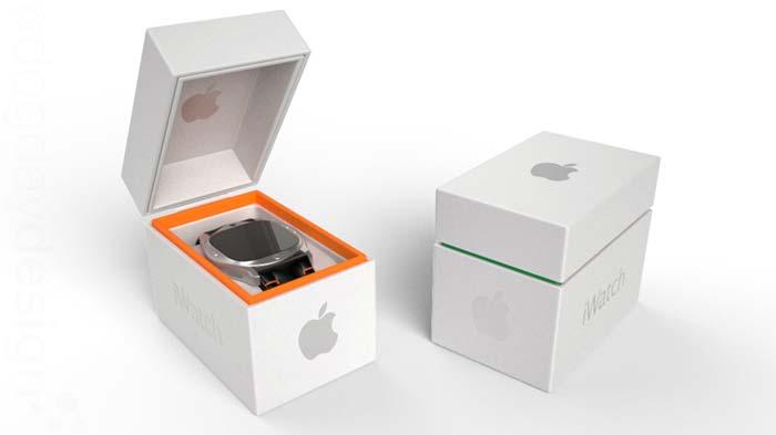 Concept design ceas Apple iWatch