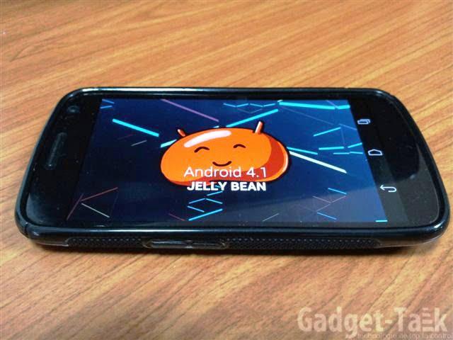 Google Nexus S Android 4.1.2 update