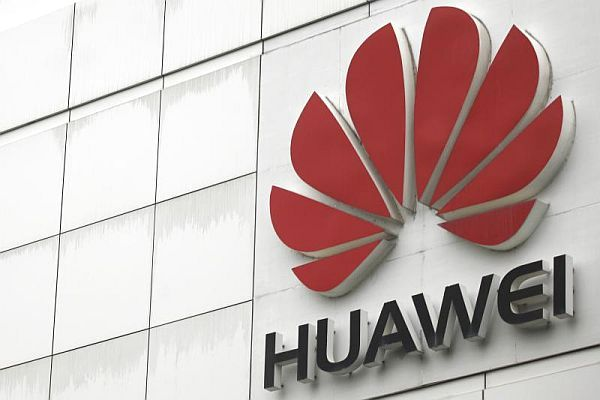 Huawei outside logo