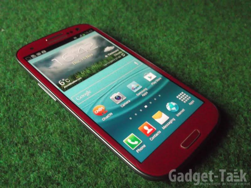 Samsung GALAXY S3 Rosu (28)