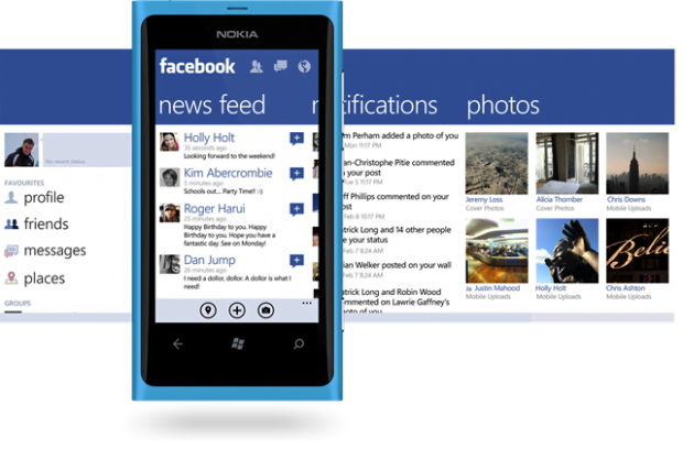 aplicatia facebook windows phone