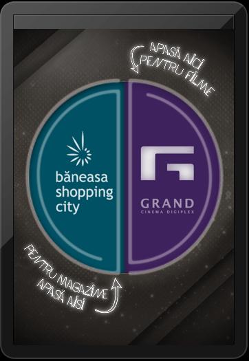 ecranul principal aplicatia Bneasa Shopping City