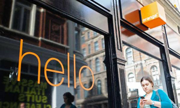 intrare magazin orange