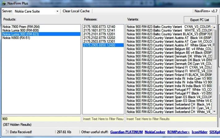 nokia lumia 900 firmware 8858