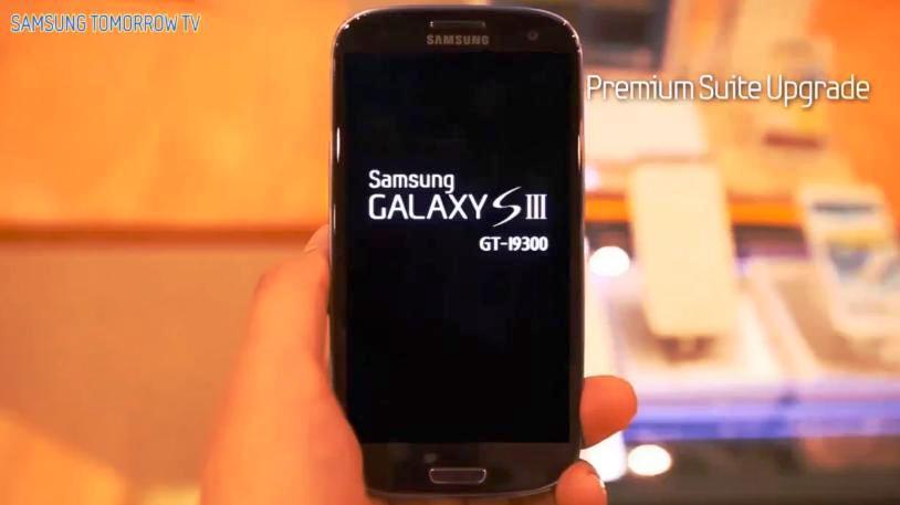 samsung galaxy s III gt-i9300 pachetul premium suite si jellybean