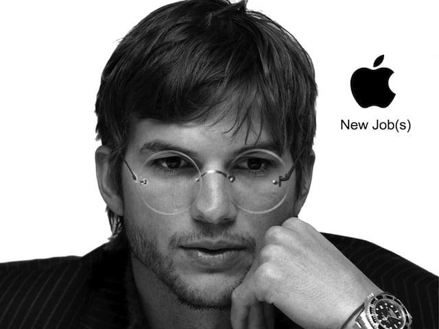 Ashton Kutcher interpreteaza rolul lui Steve Jobs