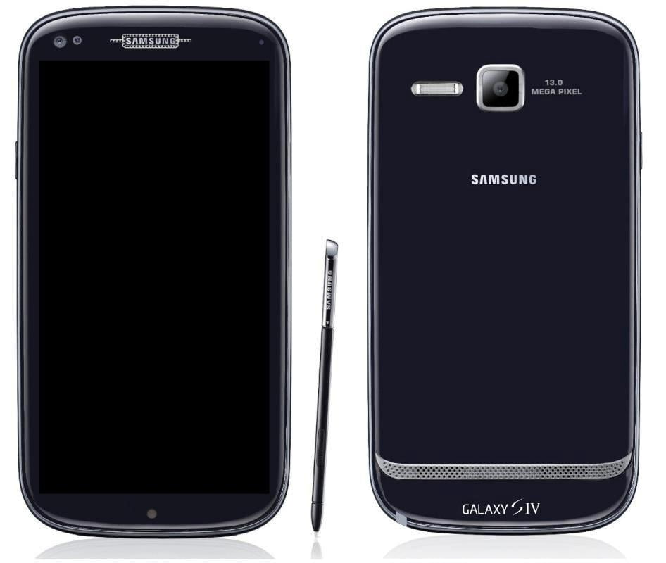 concept telefon samsung galaxy s IV