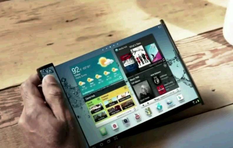 device samsung afisaj flexibil Youm