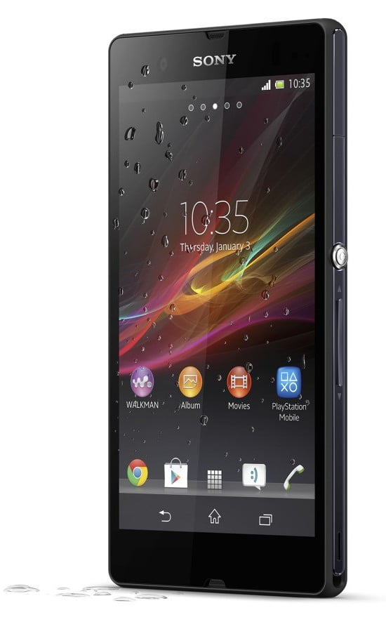 sony xperia z 5 inci full hd android jellybean 13 megapixeli camera