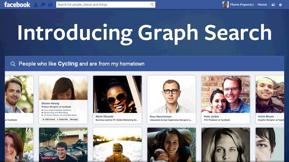 unealta de cautare facebook search graph