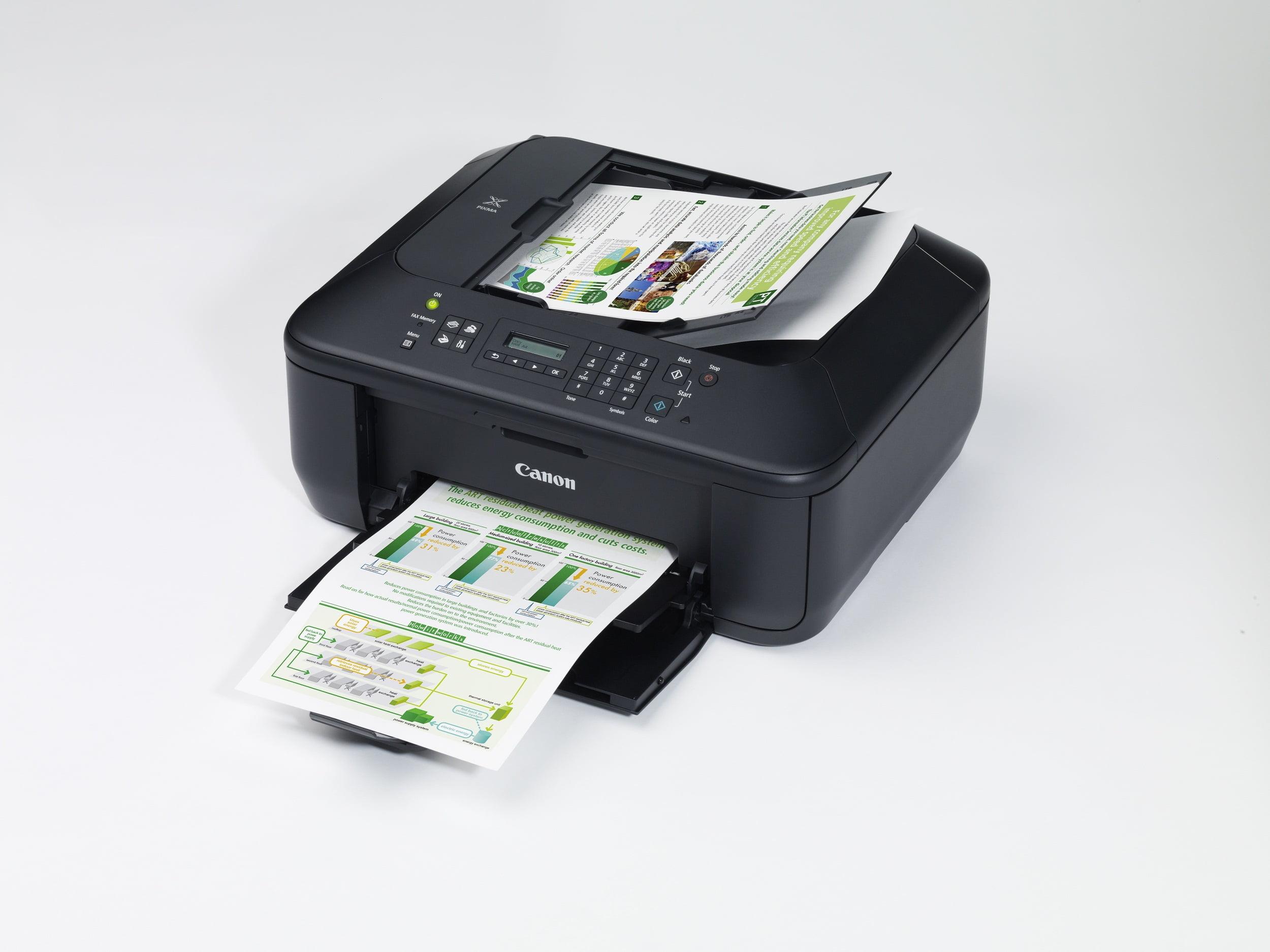 canon anunta 4 noi imprimante multifunctionale din gama pixma mx. Black Bedroom Furniture Sets. Home Design Ideas