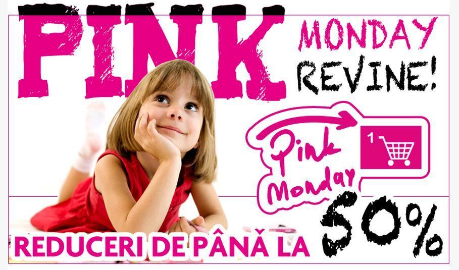Domo Pink Monday reduceri pana la 50 la suta