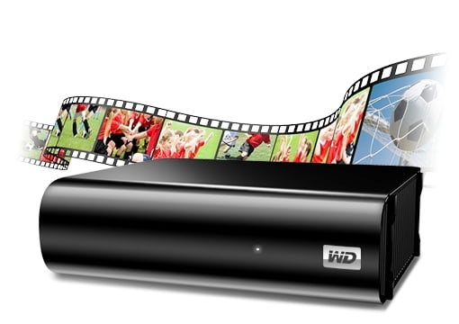 HDD extern Western Digital My Book AV-TV