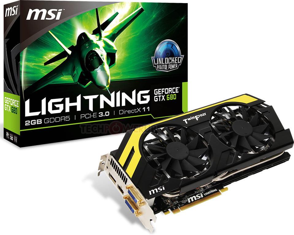MSI Lightning GTX 680