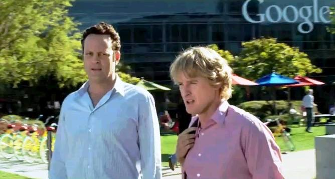 Owen Wilson si Vince Vaughn in filmul The Internship