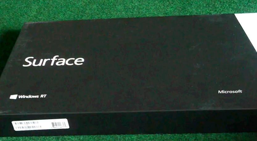 despachetare unboxing tableta Microsoft Surface RT 32GB