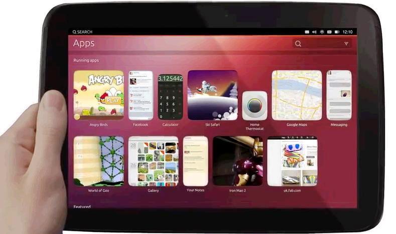 sistem operare Ubuntu pentru tablete