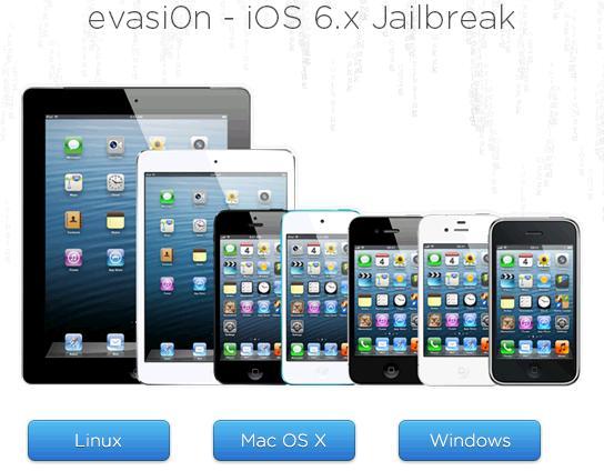 unealta jailbreak ios 6.x evasi0n