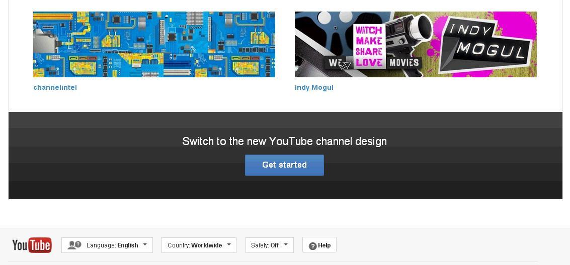Cum sa activezi Youtube One Channel pasul 3