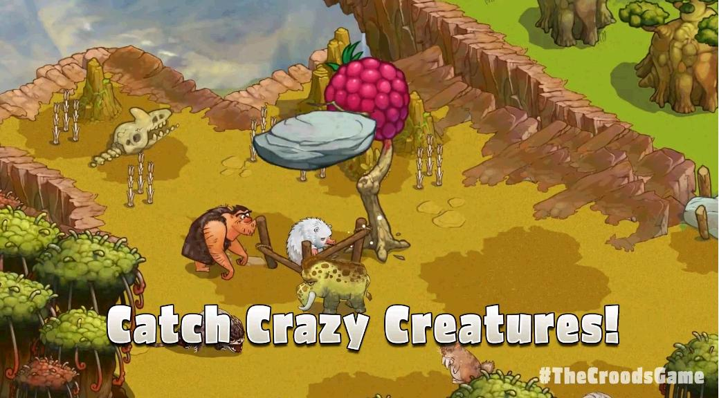 The Croods secventa gameplay joc Android iOS