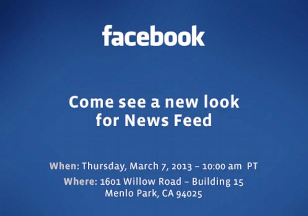 anunt facebook news feed conferinta de presa