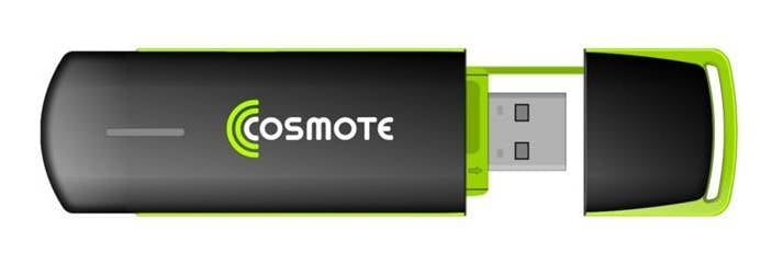 stick USB Internet CONNECT GO COSMOTE MF637
