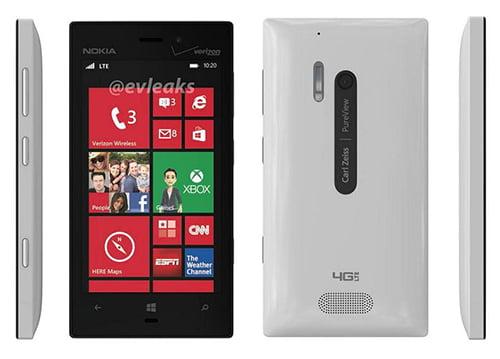 Nokia Lumia 928 alb