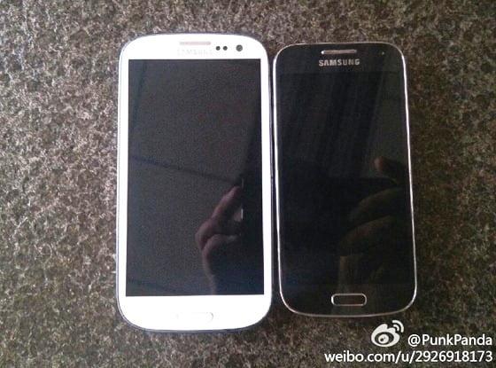 Samsung Galaxy S4 Mini langa Galaxy S3