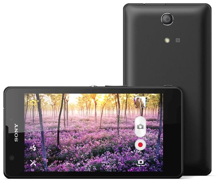 Sony Xperia ZR negru