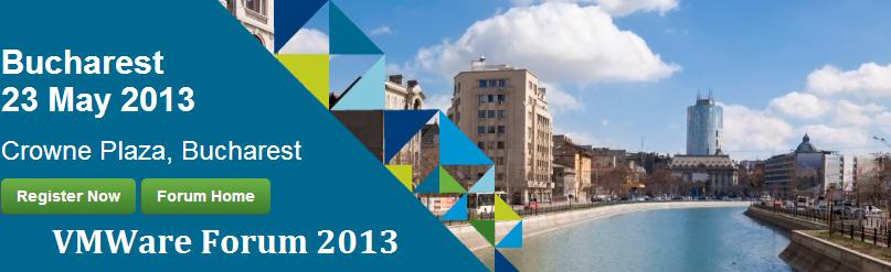 VMWare Forum 2013 Bucuresti