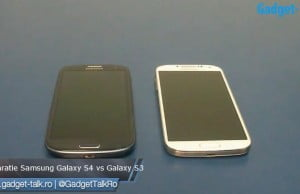 comparatie galaxy s4 vs galaxy s3