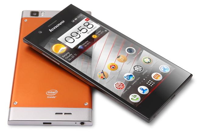 Lenovo K900 pe portocaliu