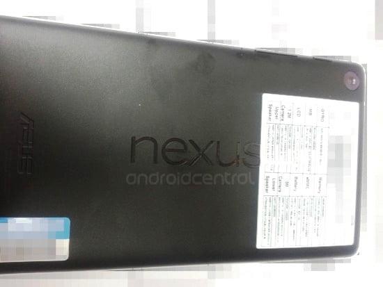 Noua tableta google Nexus 7