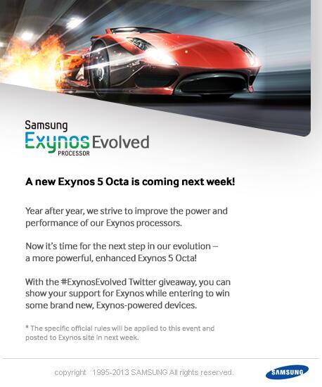 chipset Samsung Exynos Evolved