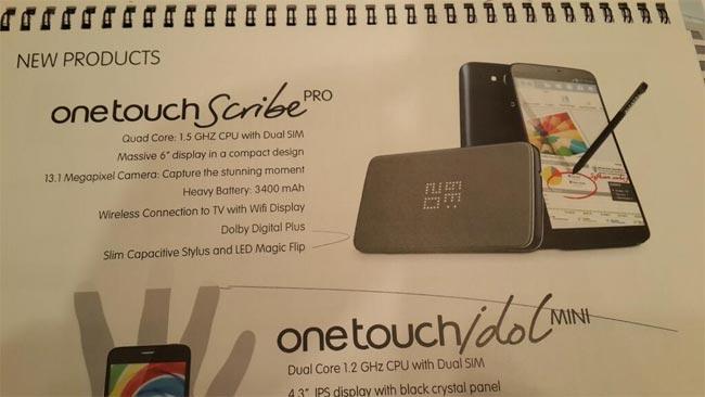 Alcatel OneTouch Scribe Pro