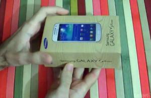 Samsung Galaxy S4 Mini despachetare