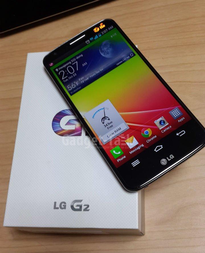 Lansarea LG G2
