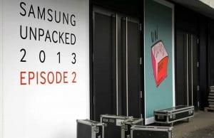Transmisie live Samsung Mobile Unpacked 2013
